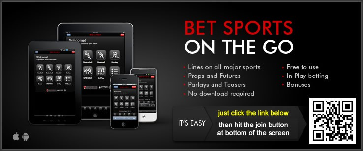 Bet Sports On The Go At Bovada Mobile