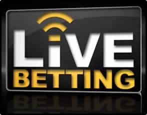 Live Betting Icon Via Bookmaker