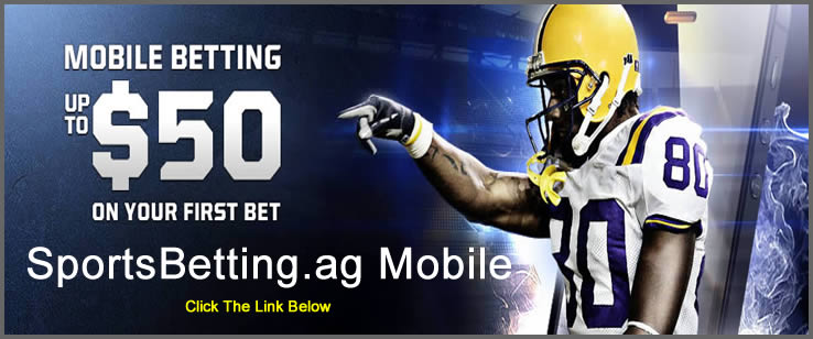 Get the latest betting odds and lines at our online sportsbook and bet from your mobile devices.